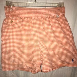 Polo by Ralph Lauren Swim - Orange polo bathing suit